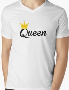 Queen Mens V-Neck T-Shirt