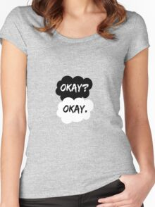 Okay? Okay. The Fault in Our Stars Women's Fitted Scoop T-Shirt