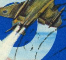 Fighter Plane Sticker