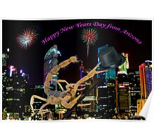 Happy New Year's Day from Arizona Poster