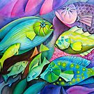 Fantasy Fish  by Karin Zeller