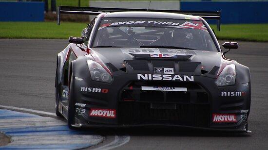 British GT3 - #35 - Nissan GTR GT3 Nismo - Buncombe / Mardenborough by motapics