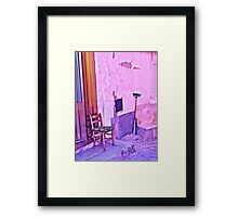 Bright Corner Framed Print