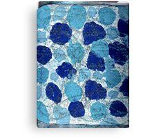 BLUE SUGAR COOKIES Canvas Print