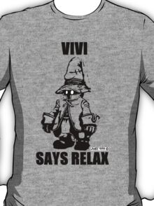 Vivi Says Relax - Transparent T-Shirt