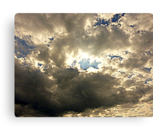 The Sheltering Sky Canvas Print