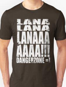 Archer - DANGER ZONE Quote -WHITE T-Shirt