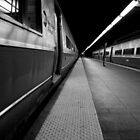 Train Platform by Amanda Vontobel Photography