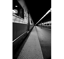 Train Platform Photographic Print