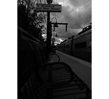 Train Platform - Northbound Photographic Print