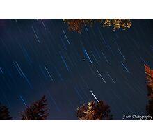 star trails Photographic Print