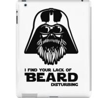 Bearded Vader iPad Case/Skin