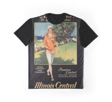 Vintage poster - Gulf Coast Graphic T-Shirt