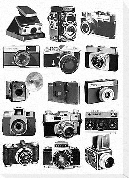 Fifteen Classic Cameras by Maxim Grew