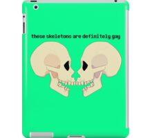 bone zone iPad Case/Skin