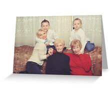 Generations Greeting Card