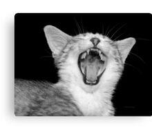 Hear my roar Canvas Print
