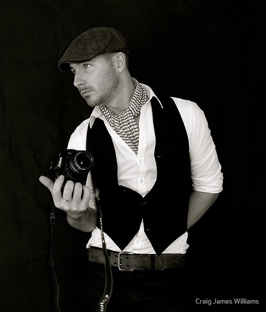 Self Portrait  by Craig James Williams