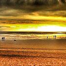 On The Beach by Mark Bateman