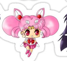 Chibi Sailor Scouts Sticker