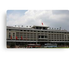 Vietnam's Reunificaton Palace in Ho Chi Minh city. Canvas Print