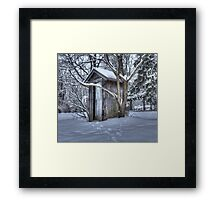 Its Cold Out Here Framed Print