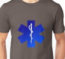 Ambulance Blue Star of Life Unisex T-Shirt