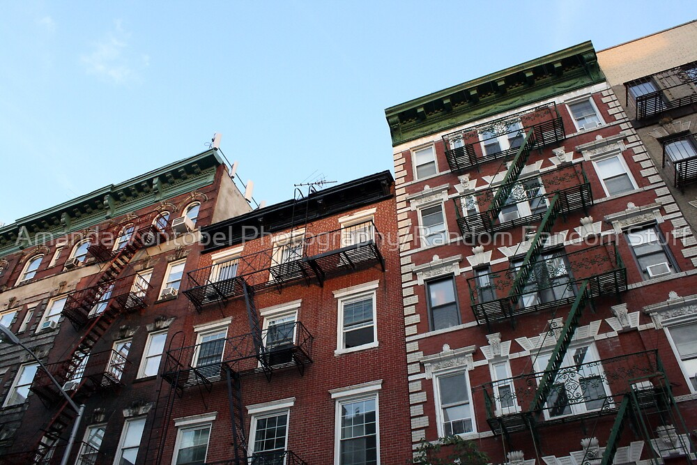 Greenwich Village - Historic Buildings by Amanda Vontobel Photography/Random Fandom Stuff