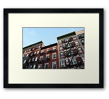 Greenwich Village - Historic Buildings Framed Print