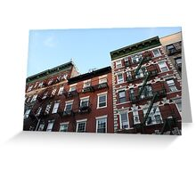 Greenwich Village - Historic Buildings Greeting Card