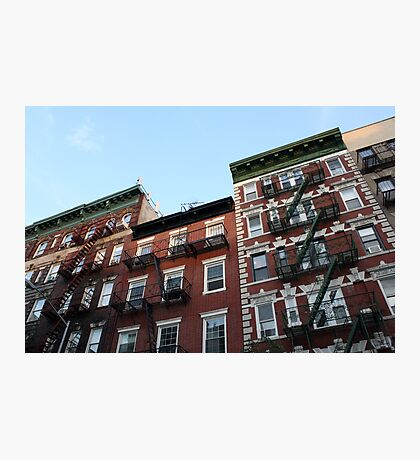 Greenwich Village - Historic Buildings Photographic Print