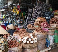 Market, Dalat, Vietnam by Glen O'Malley
