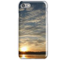 Inch Island Winter Sunset iPhone Case/Skin