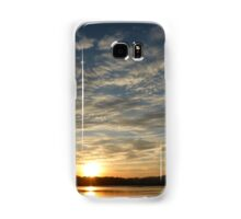 Inch Island Winter Sunset Samsung Galaxy Case/Skin