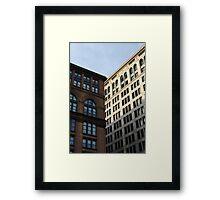 Astor Place. New York.  Framed Print