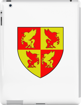 Coat of Arms iPad Case by Ealan Osborne!