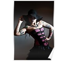Hats and Tatts Poster