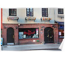 Stonewall Inn. Greenwich Village. Poster