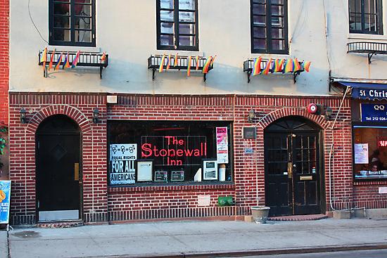 Stonewall Inn. Greenwich Village. by Amanda Vontobel Photography