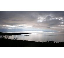 Sunset over Lake Superior Photographic Print
