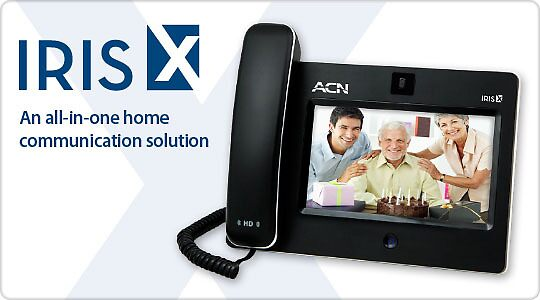 The IrisX Videophone by Mark 'Spud' Russell
