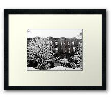 Brooklyn Winter Framed Print
