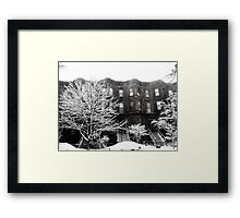 Brooklyn Winter Framed Print