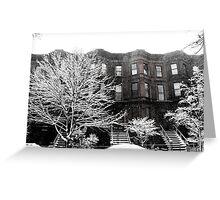 Brooklyn Winter Greeting Card