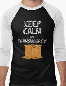 Keep Calm and Transmogrify Men's Baseball ¾ T-Shirt