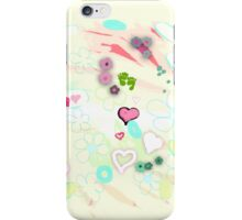 Abstract landscape - Thinking of you iPhone Case/Skin
