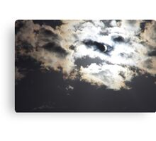 Partial Solar Eclipse 2012 - Toowoomba Canvas Print