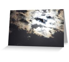 Partial Solar Eclipse 2012 - Toowoomba Greeting Card