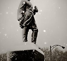 Prospect Park Statue  by AbeCPhotography