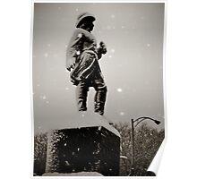 Prospect Park Statue  Poster
